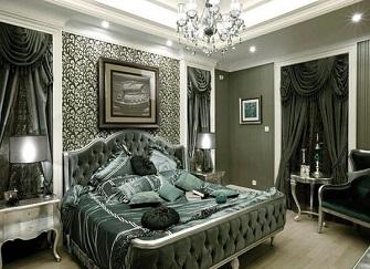 张家港150平小三室欧式装修设计案例