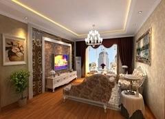 威海荣成凤凰湖小区120平米三室两厅装修案例