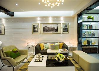 胶州三居室装修效果图 100㎡三居室现代风装修