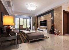 广安110平装修效果图 广安110平三室一厅装修案例