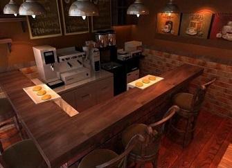 咖啡店装修设计3种风格效果图 咖啡厅装修设计4个技巧
