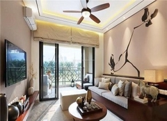 威海环翠小区三室两厅装修风格效果图