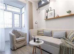 赣榆60平米单身公寓装修设计案例
