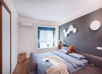 揚州124㎡簡約小三居婚房裝修設計案例