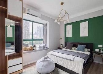 合肥华地润园装修97平三居室案例效果图