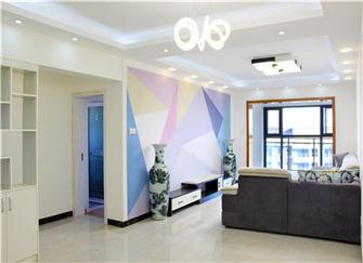 113平米2室2厅2卫装修设计案例