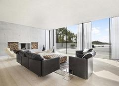 临沂90平美式三居室装修,36万整装轻奢质感