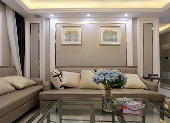 铜川123平米三居室混搭装修风格装修案例赏析