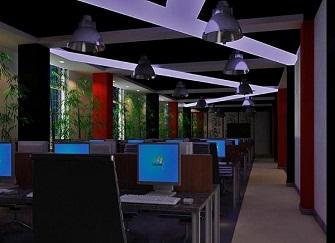 高港网咖装修多少钱 网吧装修6点设计技巧