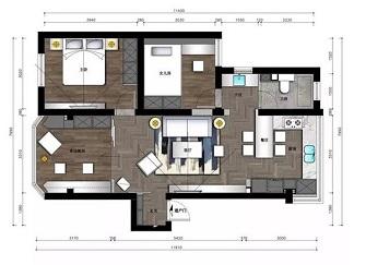 88平米简单装修多少钱 88平米装修3万样板房
