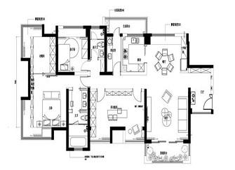 170平米装修多少钱 170平米全包15万装修样板房