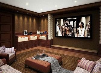 家庭影院装修多少钱 私人小型家庭影院装修布线方案