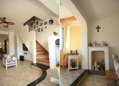 句容宝地花语墅98㎡北欧风格三居室装修设计案例