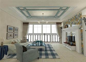 濰坊三居室裝修設計案例 110㎡舒適北歐風