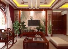 广州古典装修设计效果图赏析