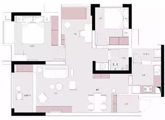 天津保利上河雅颂怎么样 95平米两室两厅装修实例