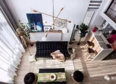 郑州45㎡复式楼装修案例 小户型loft装修的典范!