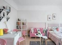 南宁单身公寓装修设计 女生公寓完美设计案例