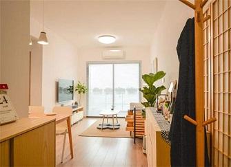 63平米装修多少钱 63平方二手房2房1厅装修案例