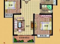 保定两室两厅装修多少钱 12万全包88平两居室效果