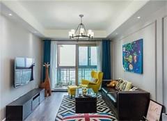 杭州100房装修多少钱 100平米三居室混搭风装修很赞