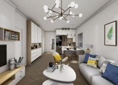 梅州66平米两居室装修案例,小户型的设计典范!