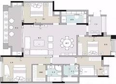 福州融侨锦江华府怎么样 176平米装修4室2厅案例