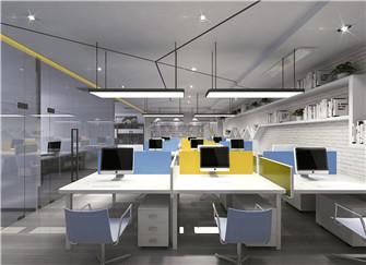 芜湖办公室装修多少钱 中型办公室装修设计案例