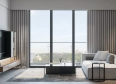 洛阳二居室装修案例 洛阳二居室现代简约风装修效果图