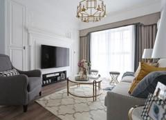 宁海婚房装修设计 110平三居室婚房装修案例