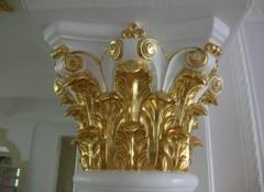 贴金箔多少钱一平方米 贴金箔与金箔马赛克哪个贵