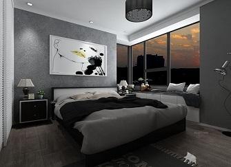 徐州天山绿洲小区95平米房子装修效果图