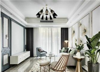 六盘水装修120平价格 120平三室一厅装修设计案例