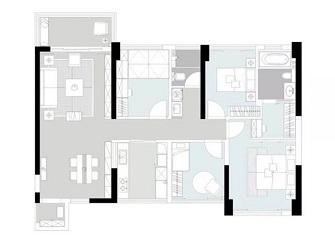 盐城碧桂园怎么样 128平三居室装修效果图