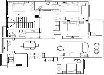 福州波尔多庄园好不好 270平米别墅装修价格