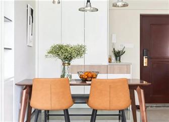 73平现代北欧风宁波单身公寓装修效果图