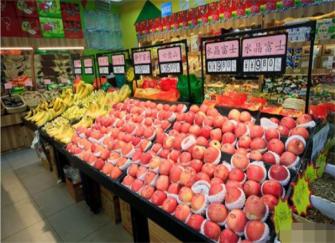 胶州水果店装修公司 水果店装修注意技巧