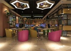 福州网吧装修公司哪家好 福州网咖装修设计多少钱