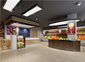 桂林水果店装修多少钱 桂林水果店装修设计方案