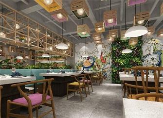 福州餐馆装修效果图 高人气实惠的餐厅装修设计方案