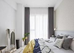 乌鲁木齐天然理想城86平米二居室装修设计案例