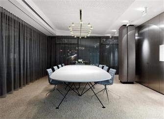 胶州会议室装修公司 胶州会议室装修效果图