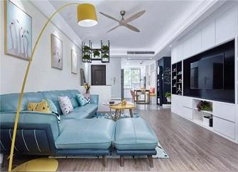 天津东瑞家园怎么样 85平米二手房装修9万效果图