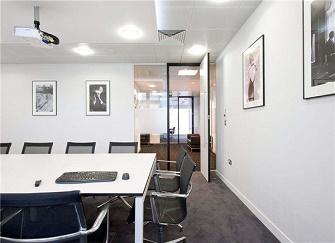 蘭州辦公室裝修設計案例 1000㎡現代化裝修風格