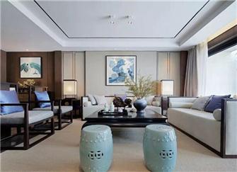 南京别墅装修设计 南京新中式别墅装修设计案例