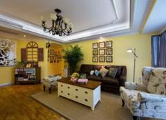 洛阳四居室装修案例欣赏 158平活力满满的美式风格装修