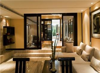 扬州310平别墅美式风格装修样板间