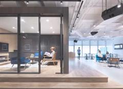 洛阳办公室装修案例 音乐传媒公司办公室装修设计效果图