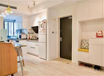昆明旧房改造装修案例 90平三居室通透又现代