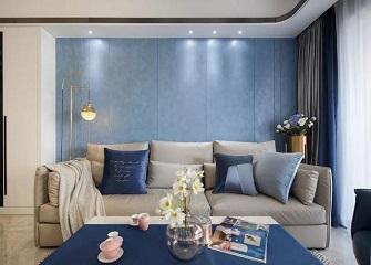 沈阳120平二手房现代轻奢风装修案例